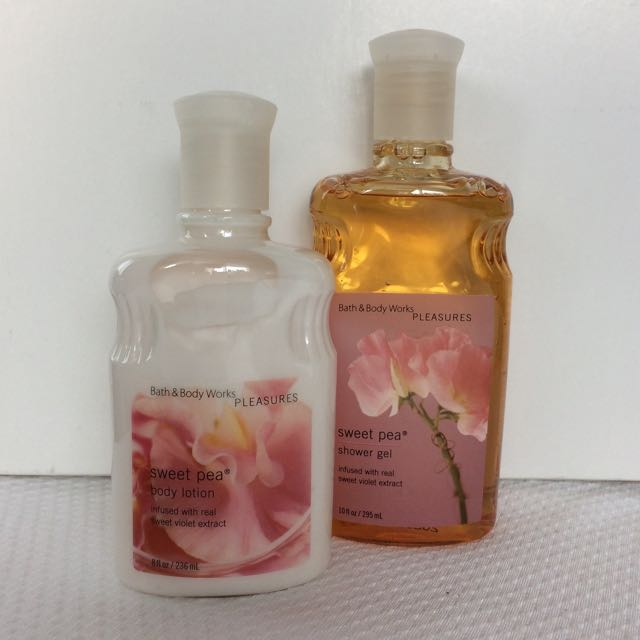Bath And Body Works Pleasures Lotion And Shower Gel