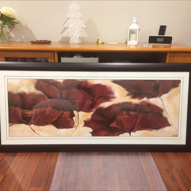Beautiful Picture Frame - Blood Poppies