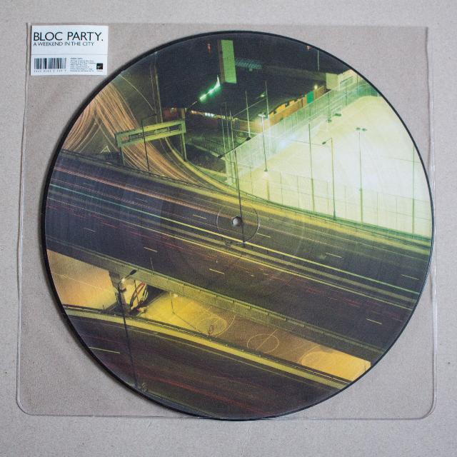 Vinyl: Bloc Party - A Weekend in the City vinyl album