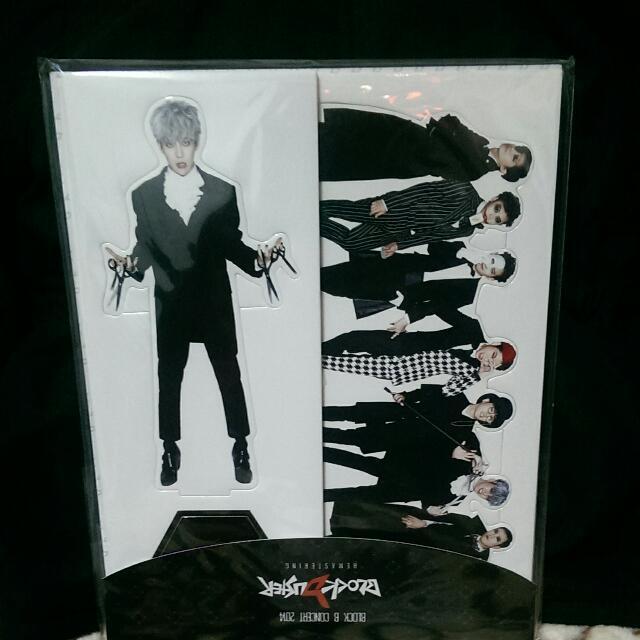 Block B 2014演唱會週邊 朴經 人型立牌