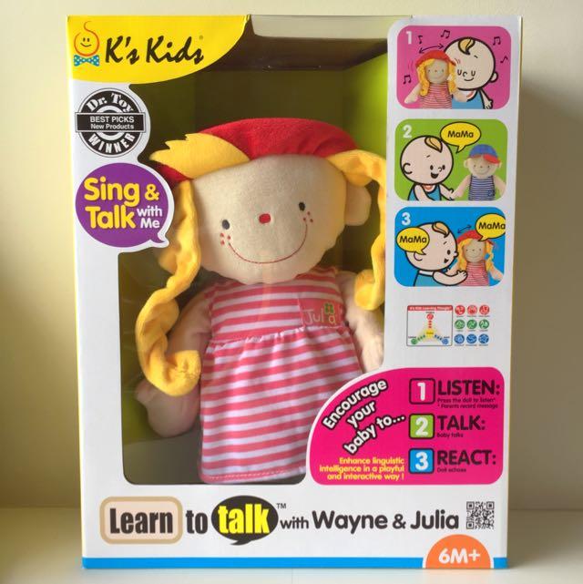 9b503f4b7a269 BN k s Kids Learn To Talk Toy