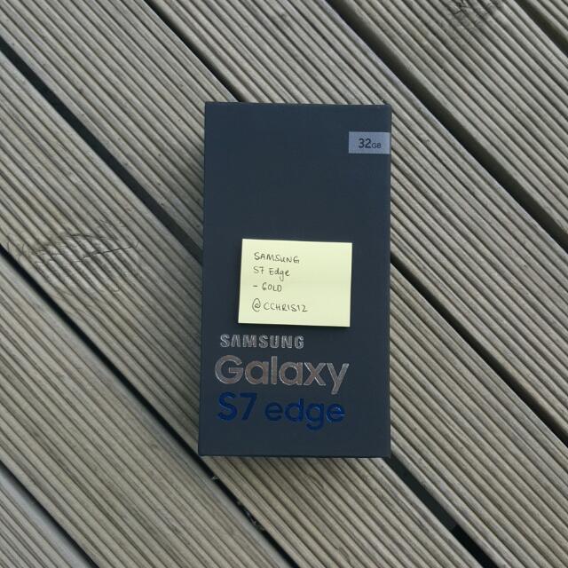 BNIB Galaxy S7 Edge Gold