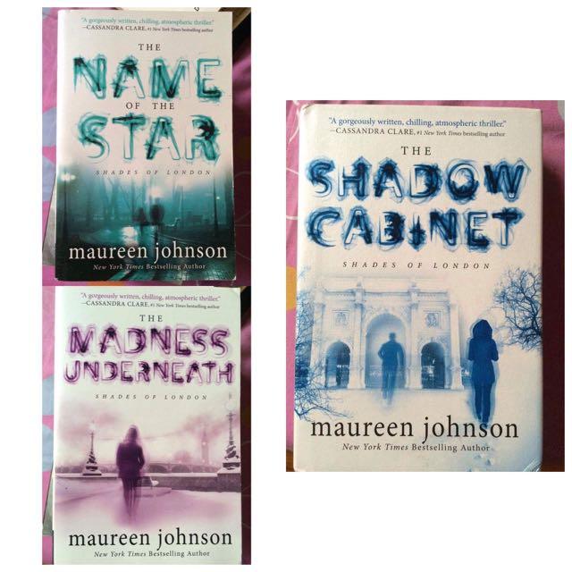 Book Bundle Of Maureen Johnsons