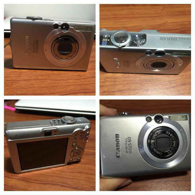Canon Ixus 60 完整盒裝 使用正常