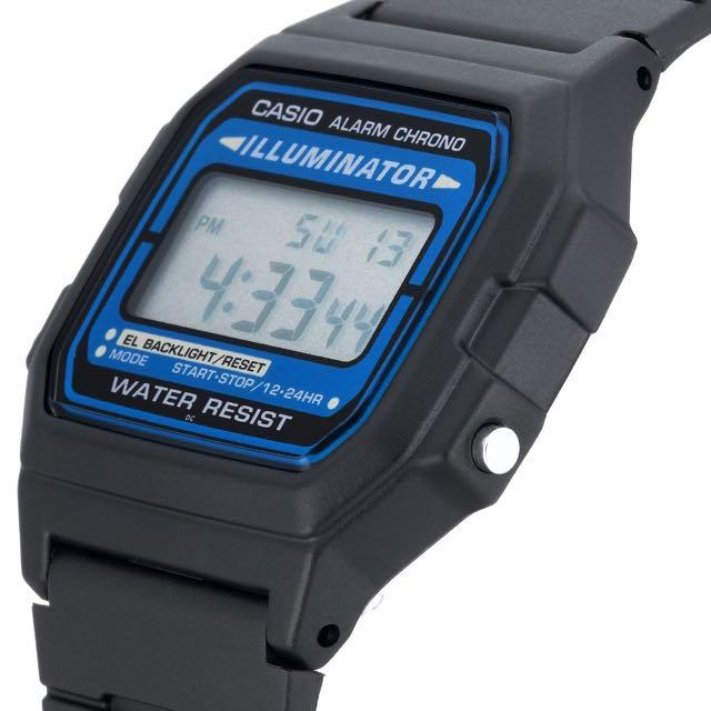 new concept 56ae6 58879 Casio F105W-1A Men's Classic Water Resistant Illuminator Digital Sports  Watch