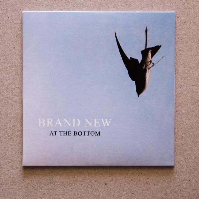 CD: Brand New - At the Bottom CD single