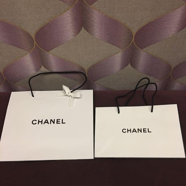 Chanel-紙袋(買大送小)