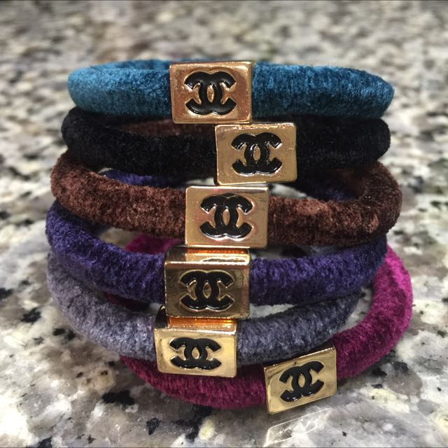 CHANEL Hair Ties