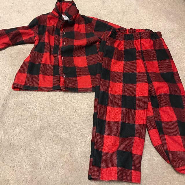 Christmas Checkered Pajamas