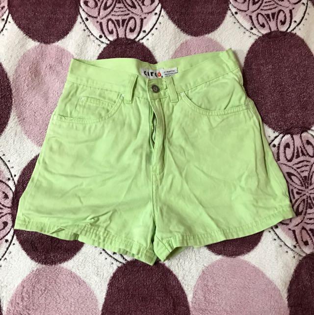 CIRCO light green shorts