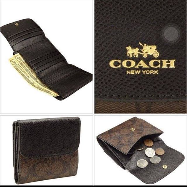 Coach短夾