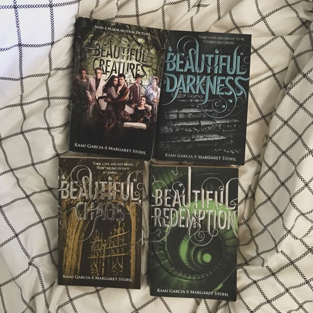 Complete Set- Beautiful Creatures novels