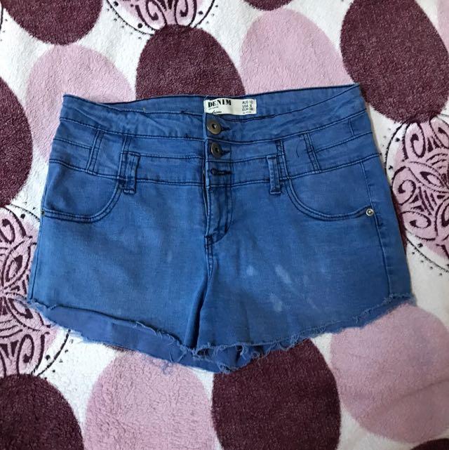 COTTON ON ripped hem shorts