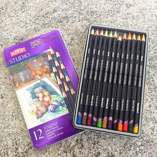 Derwent Studio Colour Pencils
