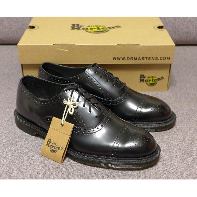 【現貨】Dr. Martens Morris Brogue 馬汀 雕花鞋 男款 黑色 AW15