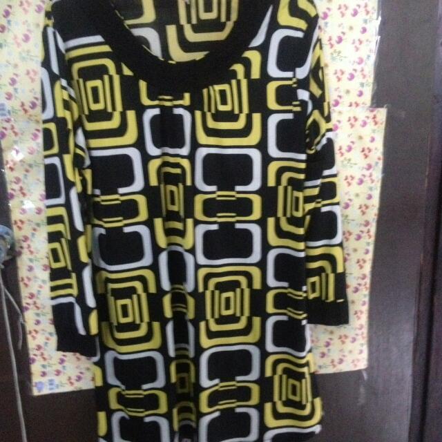 Dress Bahan Jersey
