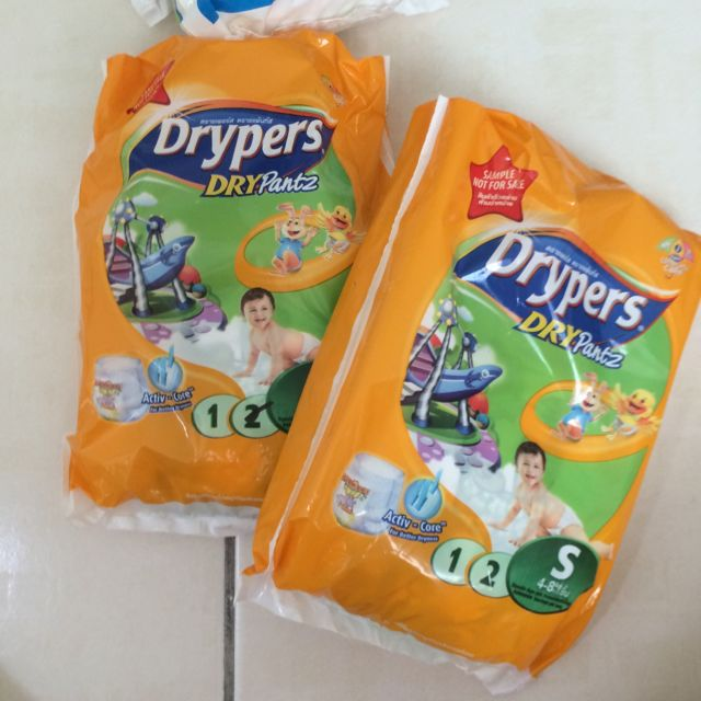 Drypers For Free