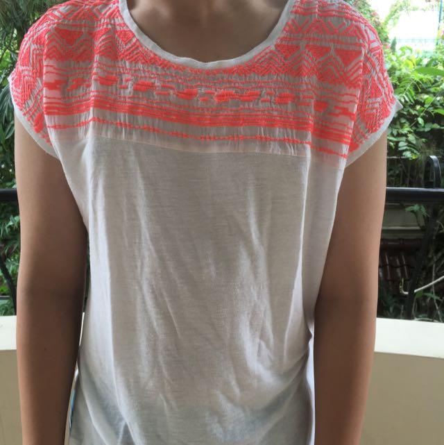 edc ethnic neon shirt