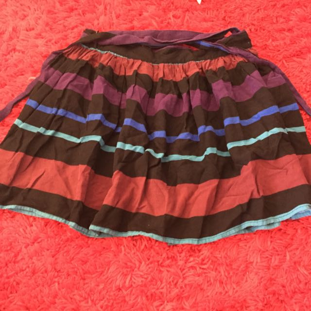Factorie High Waisted Striped Skirt Size XS/8