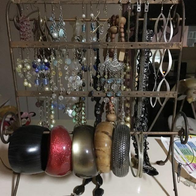 Fancy Earrings And Bracelets