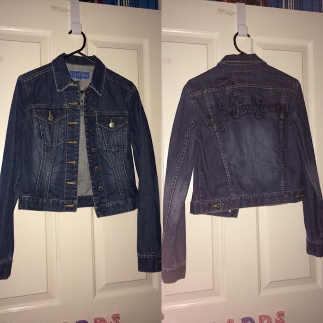FCUK Jeans denim Jacket