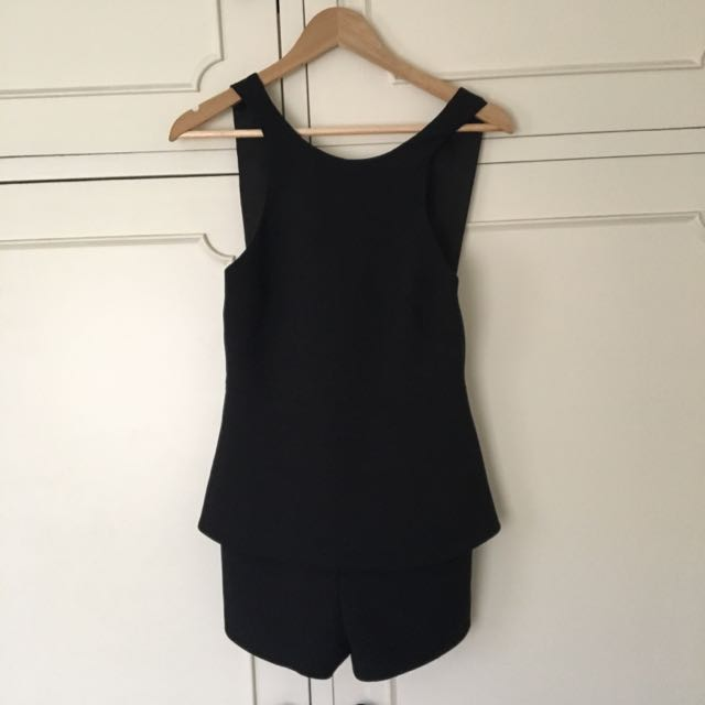 Finders Keepers V-back Playsuit