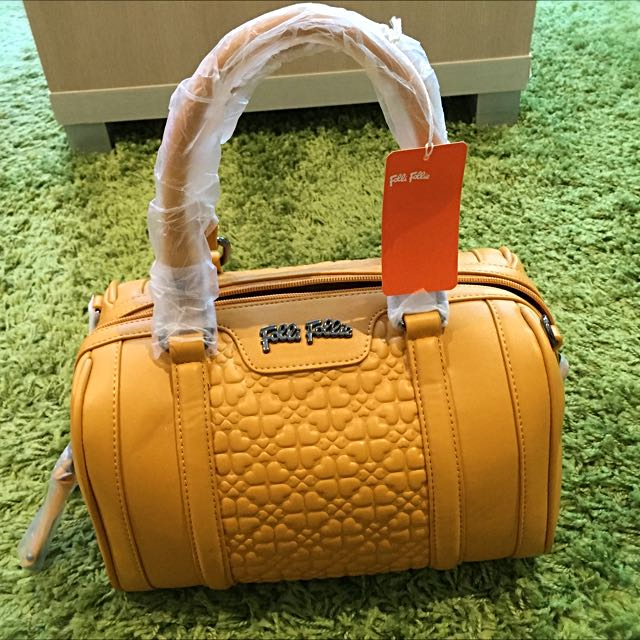 Follie Follie Heart4Heart Yellow Crossbody BNWT