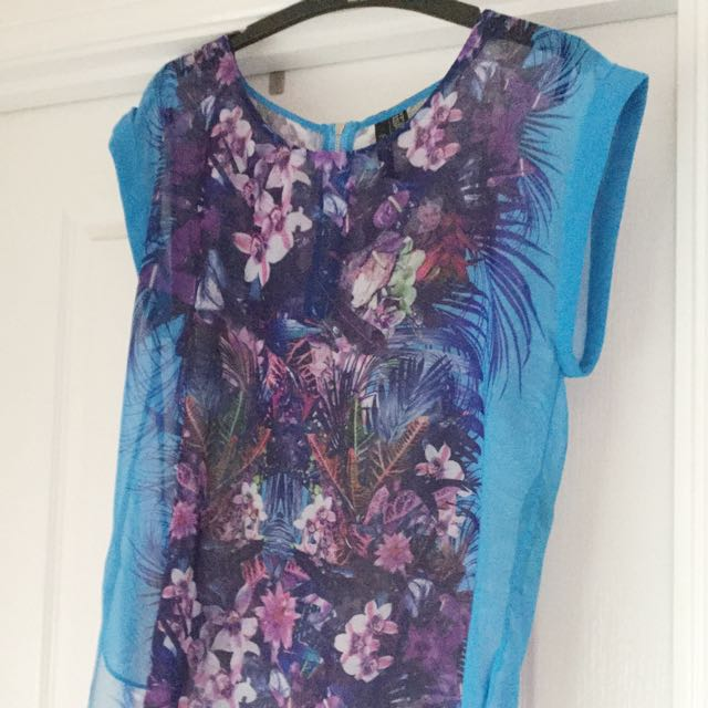 Forever New Floral Summer Blouse