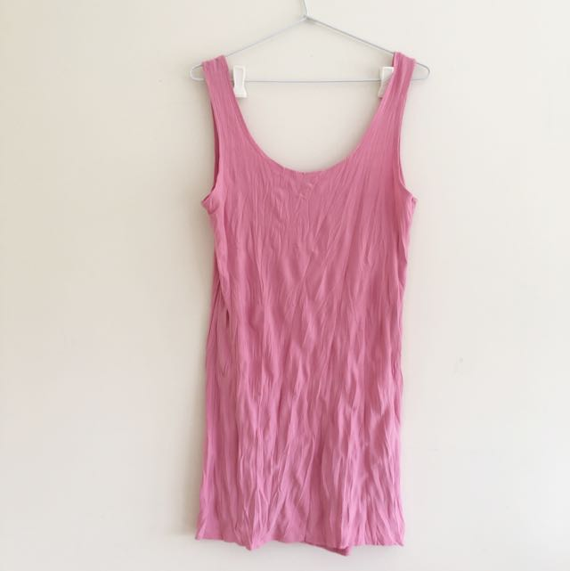 FREE POSTAGE 💌🔁 Stretchy Pink Slip Dress