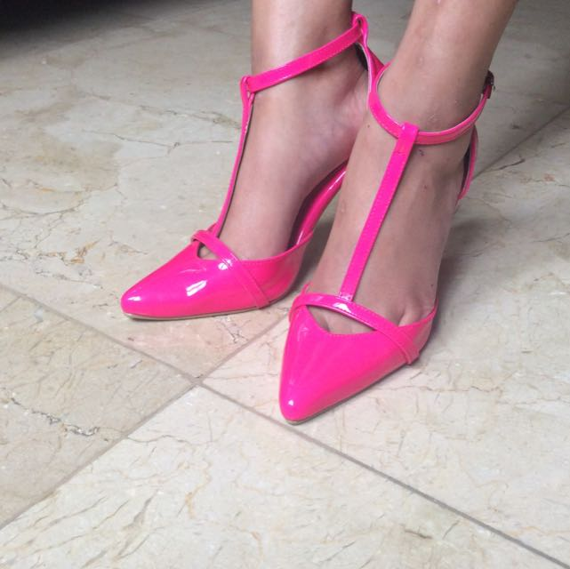 Fuschia Shoes Size 35