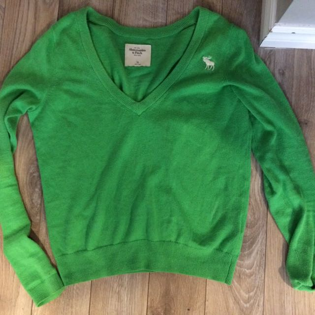 Green Abercrombie And Fitch Top
