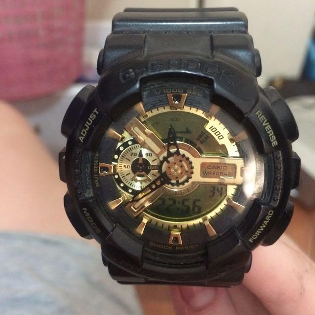 G-shock Black & Gold