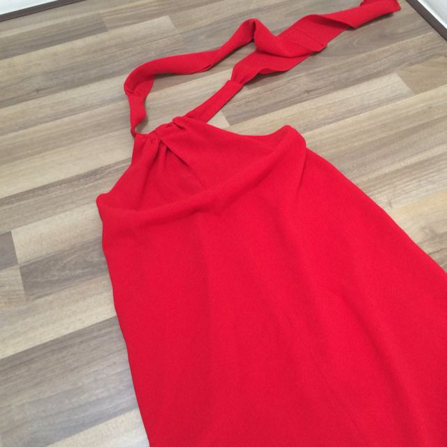Halter neck Dress For Christmas Or Chinese New Year