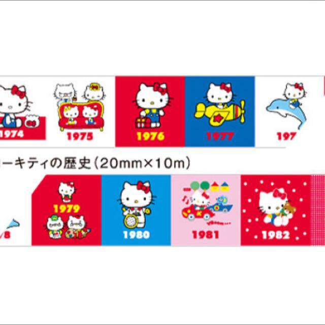 Hello Kitty Year Mt Tape