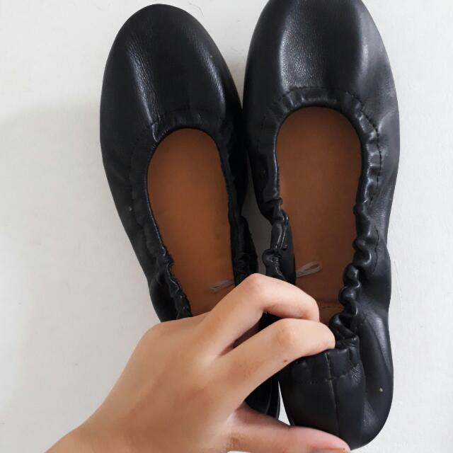 H&M Black Leather Shoes