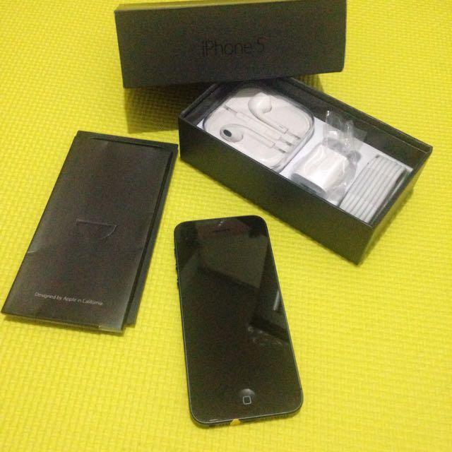 Iphone 5 16&32GB SLATE BLACK