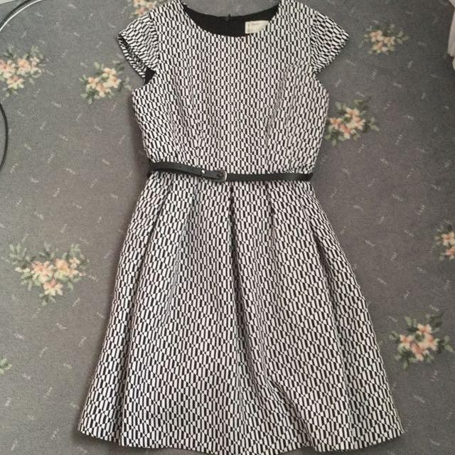 Karen Walker Scuba Dress