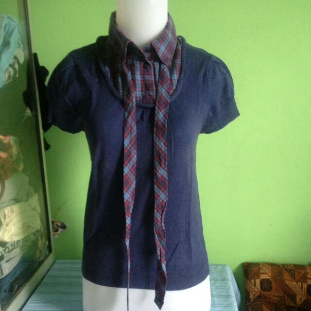 Kemeja Knit By Divided