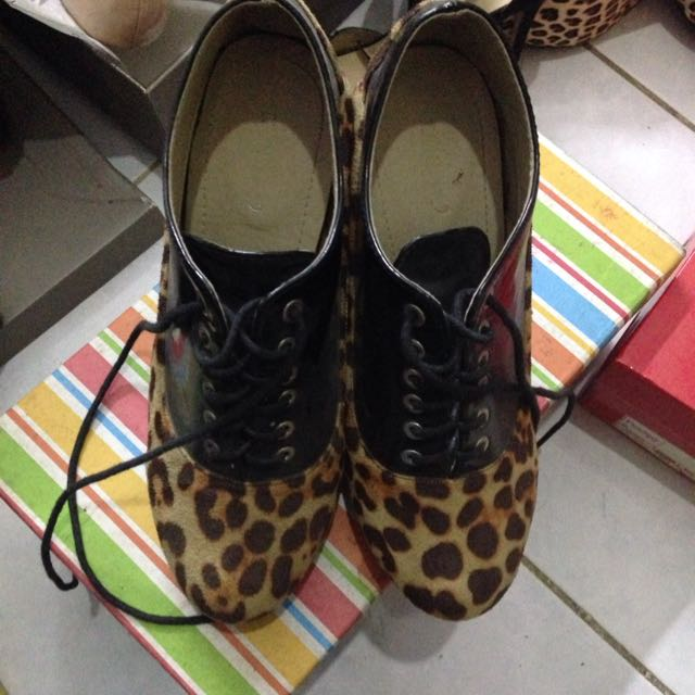 Leopard Ankle Shoes