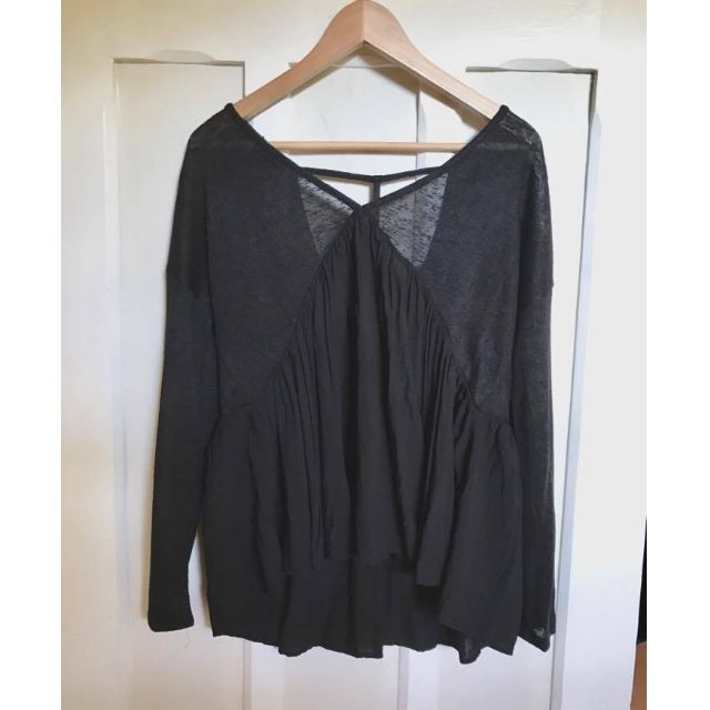 LilyLoves Black Flow Top
