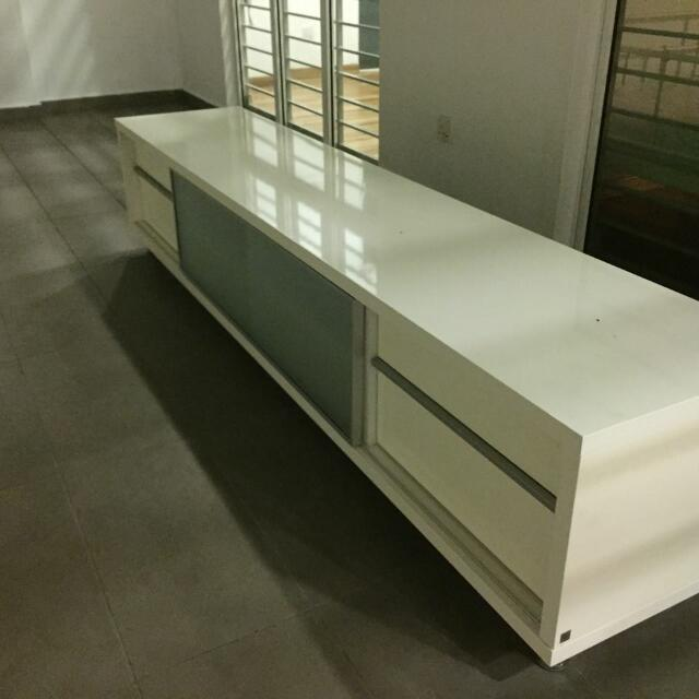 Lorenzo Tv Console Cabinet Home Furniture Furniture On Carousell