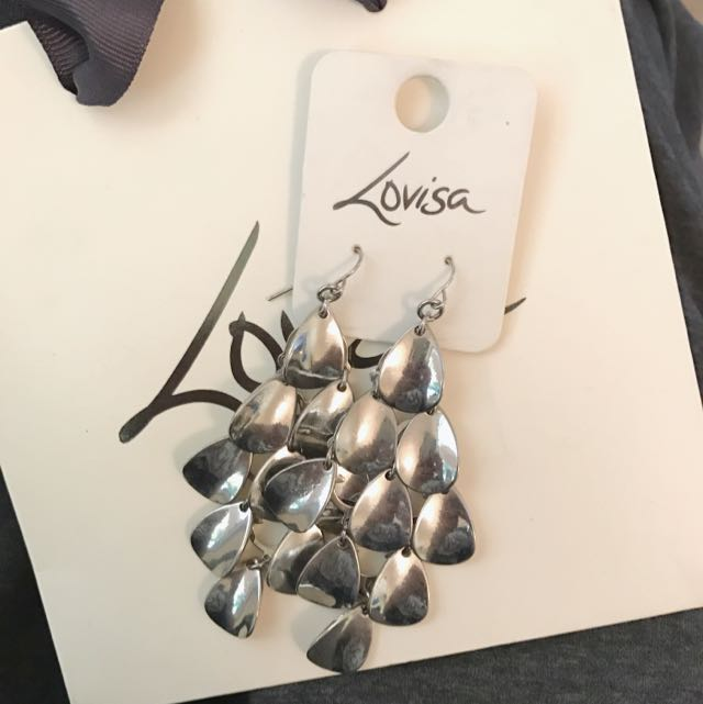 Lovisa Silver Cascade Earrings