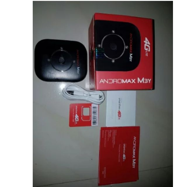 Mifi modem wifi Andromax m3y fullset bergaransi