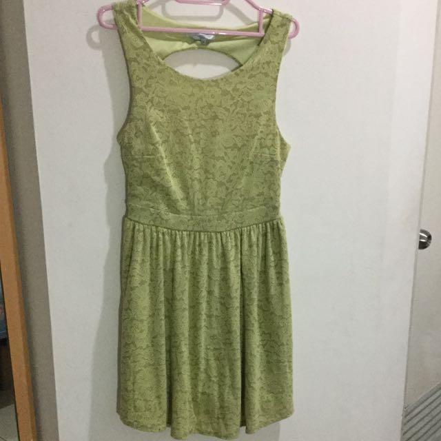 New Look Green Dress