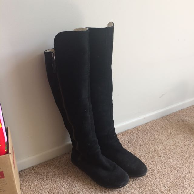 Nine West Shearling Boots