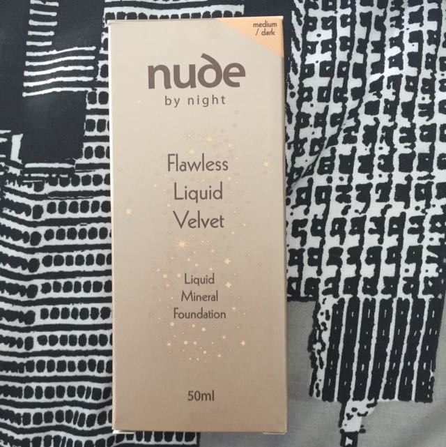 Nude By Night Flawless Liquid Velvet Foundation