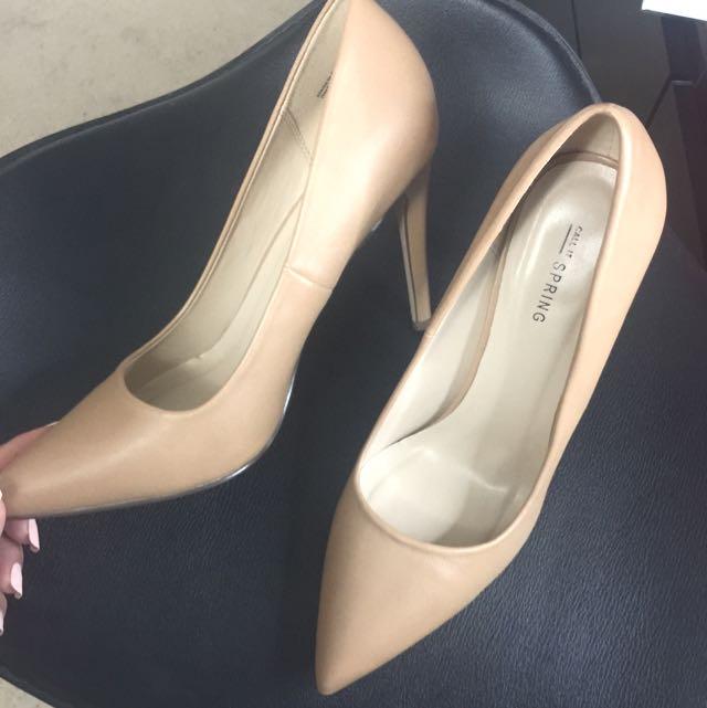 Nude Heels - SPRING