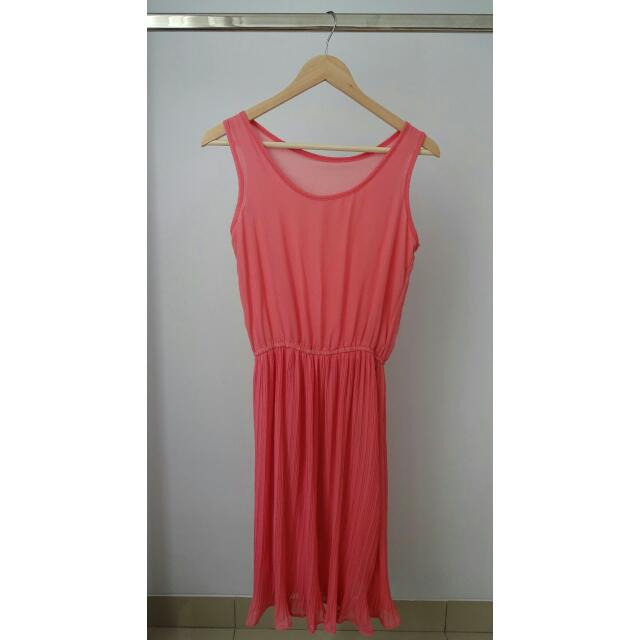 Peachie Midi Dress
