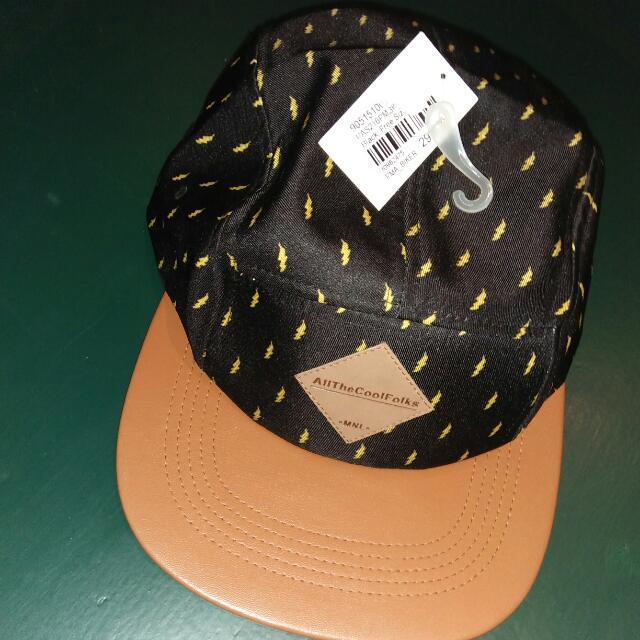 Penshoppe Black And Brown Cap