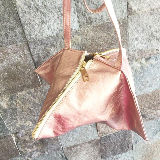 Prism Bag Rose Gold